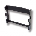 Double Sword Wall Display Black