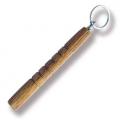 Wood Hesitan Key Chain