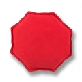 Iron Palm Bag Octagon Unfilled Red