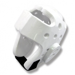 Dipped Foam Head Gear White