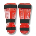 Dipped Foam Shin Instep Red