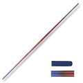 Bo 6 FT Toothpick Graphite Red/Blue