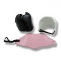 Ladies Dipped Foam Chest Guard - Black