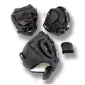 Vinyl Head Gear Black with Cage