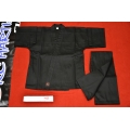 Black Traditional Uniform Middle Weight 8 OZ