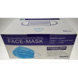 Disposable Child 3 PLY Face Mask (50 Count)