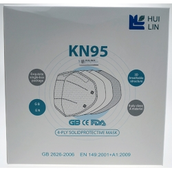 Disposable KN95 Face Mask (25 Count)