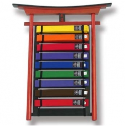 Bushido Belt Display Wall Mount 10 Step