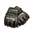 MMA Warrior Glove Leather Black