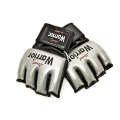 MMA Warrior Glove Silver